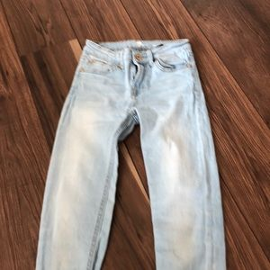 Girls size 10 7 for all man kind jeans